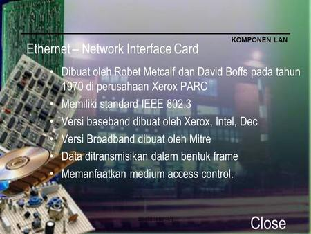 Ethernet – Network Interface Card