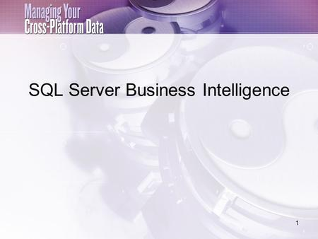 1 SQL Server Business Intelligence. Database AdventureWorks Microsoft Corp menyediakan sample database bernama adventureWorks yang berada dibawah shema.