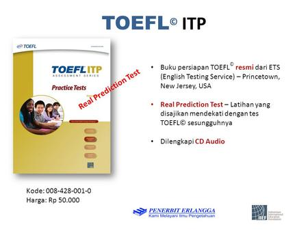 TOEFL© ITP Real Prediction Test