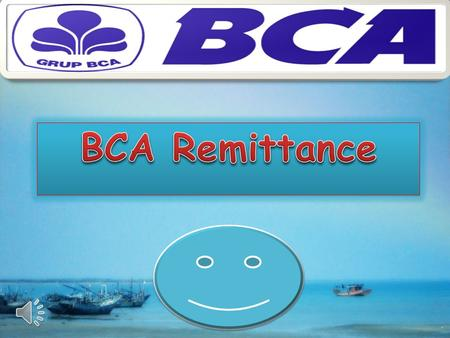 BCA Remittance.