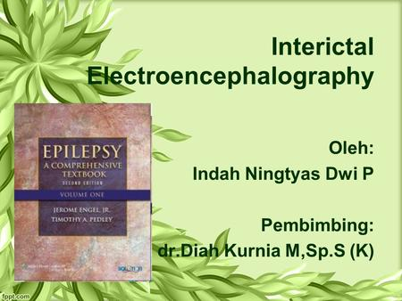 Interictal Electroencephalography