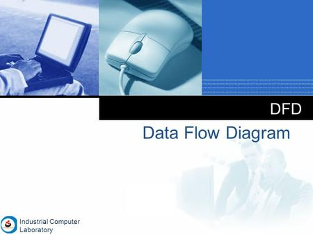 Company LOGO DFD Data Flow Diagram Industrial Computer Laboratory.