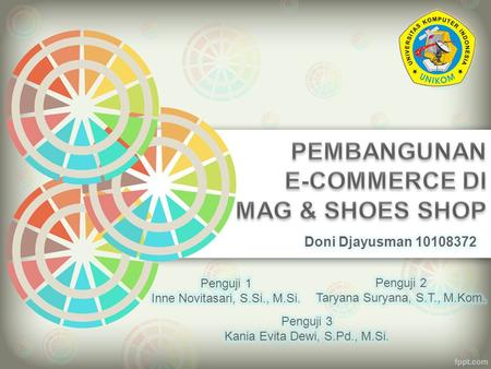 PEMBANGUNAN E-COMMERCE DI MAG & SHOES SHOP