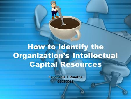 Fangnania T Rumthe 69080081 How to Identify the Organization's Intellectual Capital Resources.