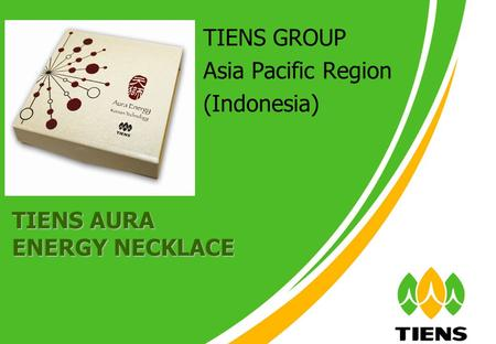 TIENS GROUP Asia Pacific Region (Indonesia) TIENS AURA ENERGY NECKLACE.