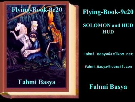 Flying-Book-9e20 SOLOMON and HUD HUD  Fahmi Basya.