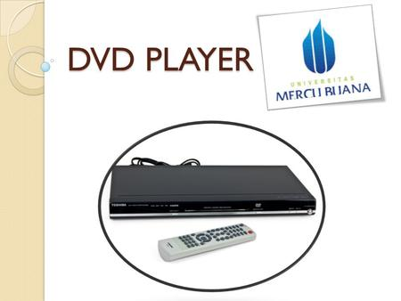 DVD PLAYER.