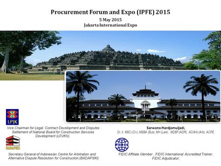 Procurement Forum and Expo (IPFE) 2015