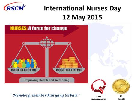 International Nurses Day 12 May 2015