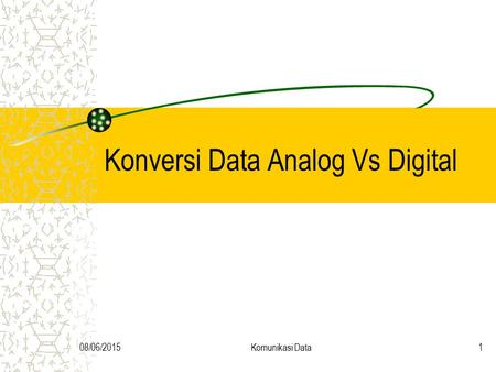 Konversi Data Analog Vs Digital