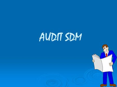 AUDIT SDM.