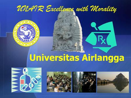 Universitas Airlangga UNAIR Excellence with Morality.