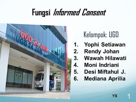 Fungsi Informed Consent