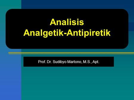 Analgetik-Antipiretik