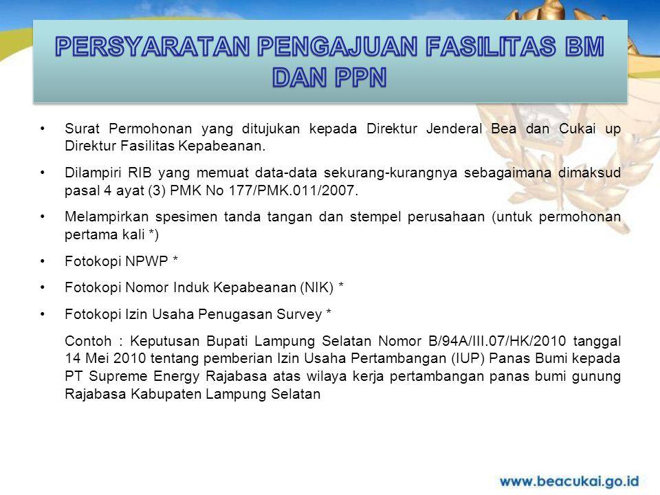Terima Kasih Direktorat Jenderal Bea dan Cukai Jalan Jenderal Ahmad Yani (By Pass) Jakarta - 13230