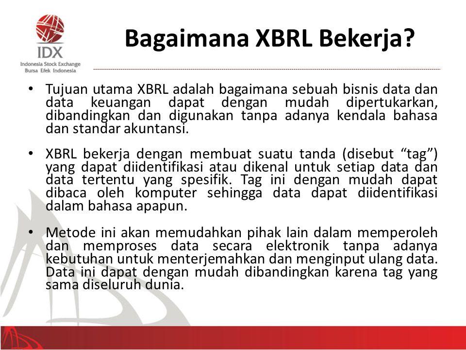 XBRL Tagging 6 • Bagaimana caranya agar komputer mengerti pesan yang kita buat.