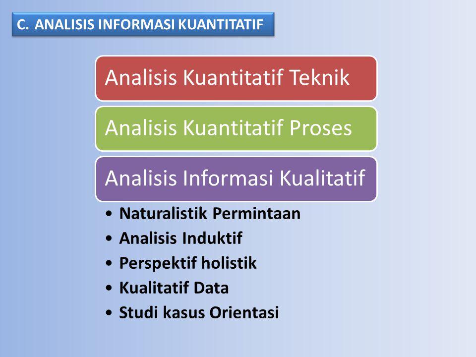 Dapat dianalisa dengan berbagai teknik, Dengan metode diringkas dari membaca dan annotating teks, penggunaan komputer dan berbagai program perangkat lunak.