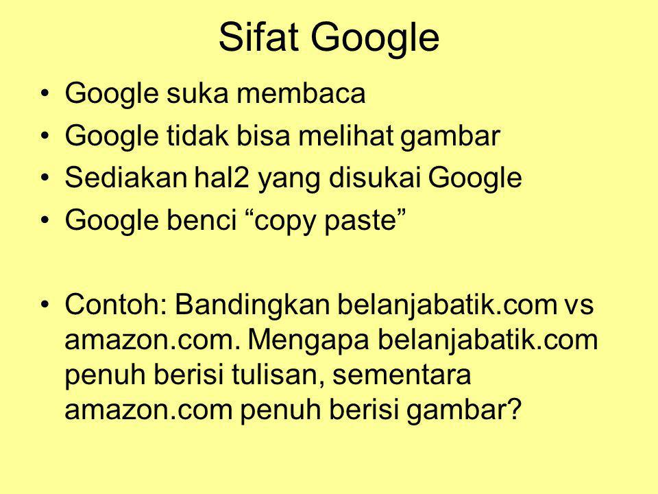 SEO KeywordFrekuensiUrutan Hasil Pencarian Google IndonesiaYahoo.