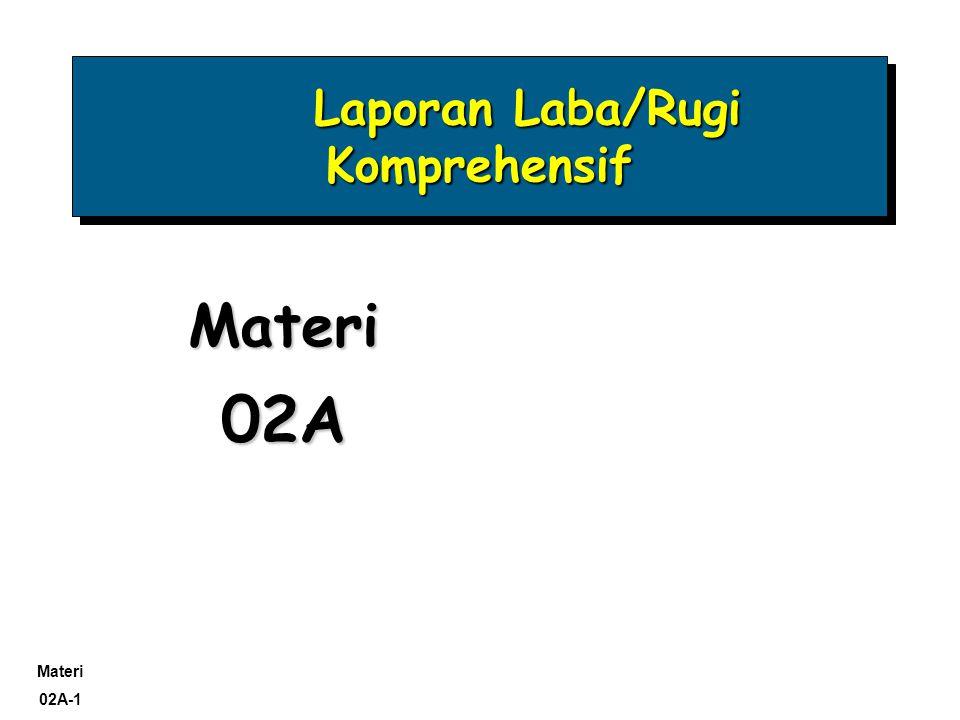 Materi 02A-2 Mengevaluasi kinerja masa lalu.
