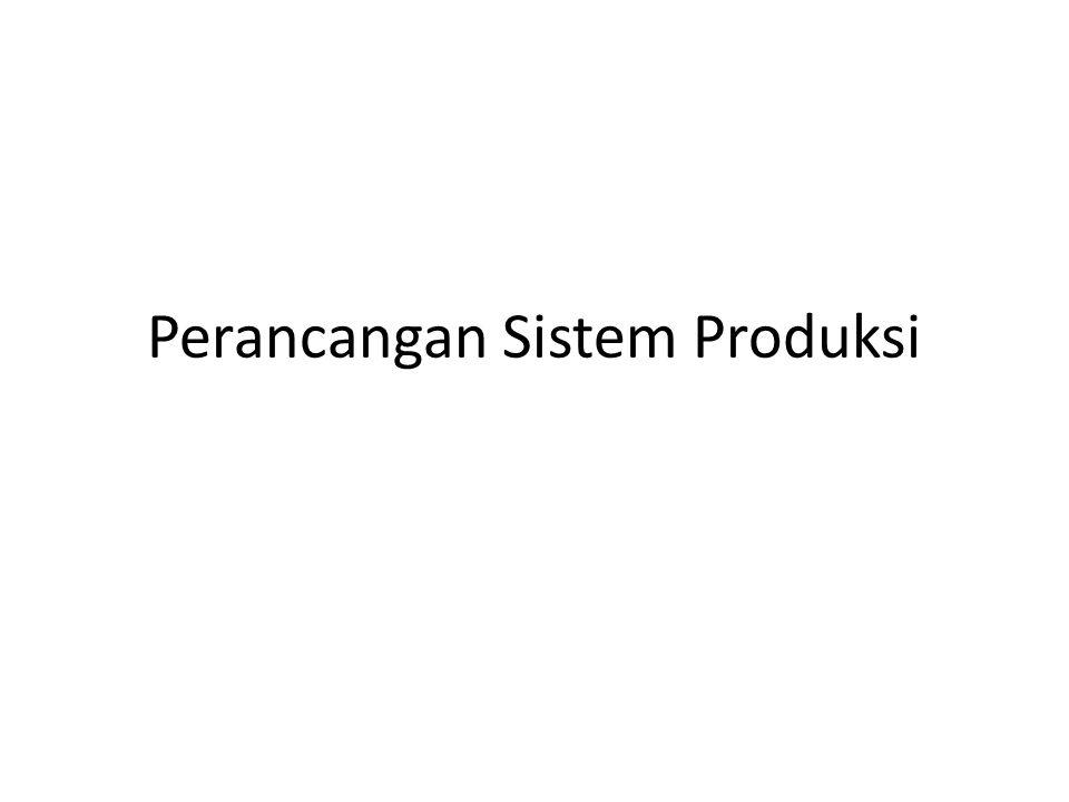 Sistem Produksi • Adalah sistem yang mengubah (transformasi) sumberdaya input menjadi output yang memiliki nilai lebih tinggi • Kaitan Sistem Produksi dalam PPC adalah pelaksanaan PPC yang tercakup dalam Manajemen produksi