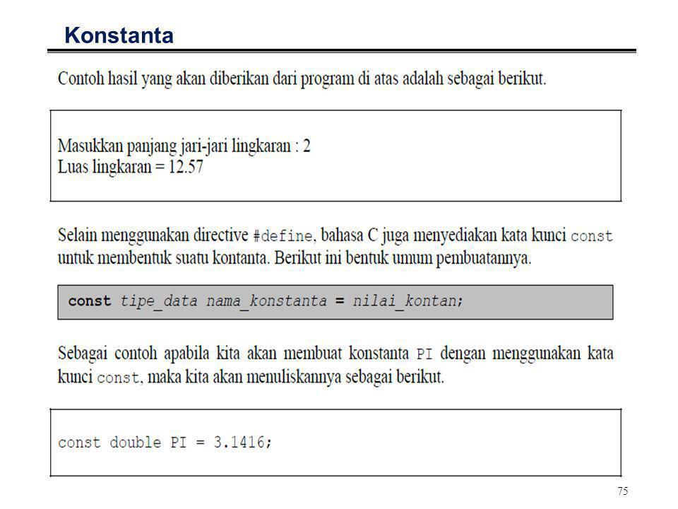 Part 5 PEMROGRAMAN TERSTRUKTUR DENGAN PENDEKATAN BAHASA C.
