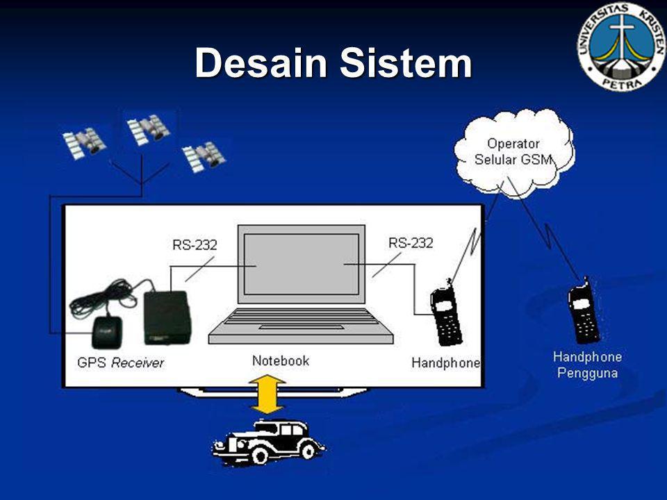 Implementasi Hardware yang digunakan :   GPS receiver : GPS Garmin25 produksi Garmin International.