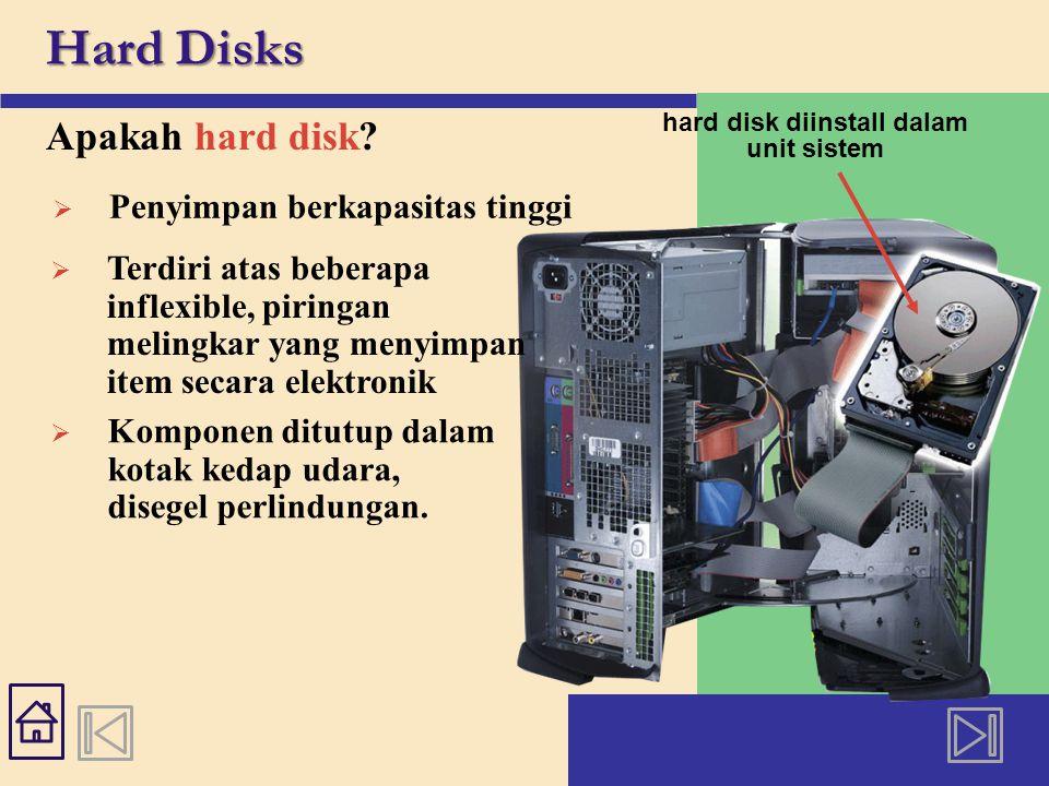 Hard Disks Apakah head crash.