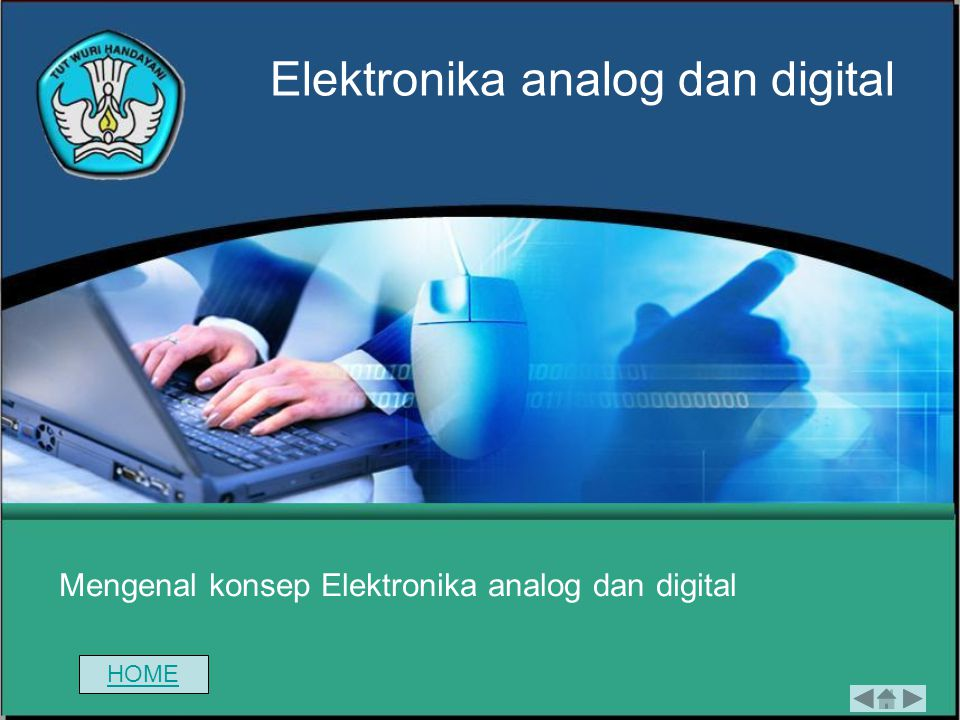 Mengenal konsep Elektronika analog dan digital Elektronika analog dan digital HOME