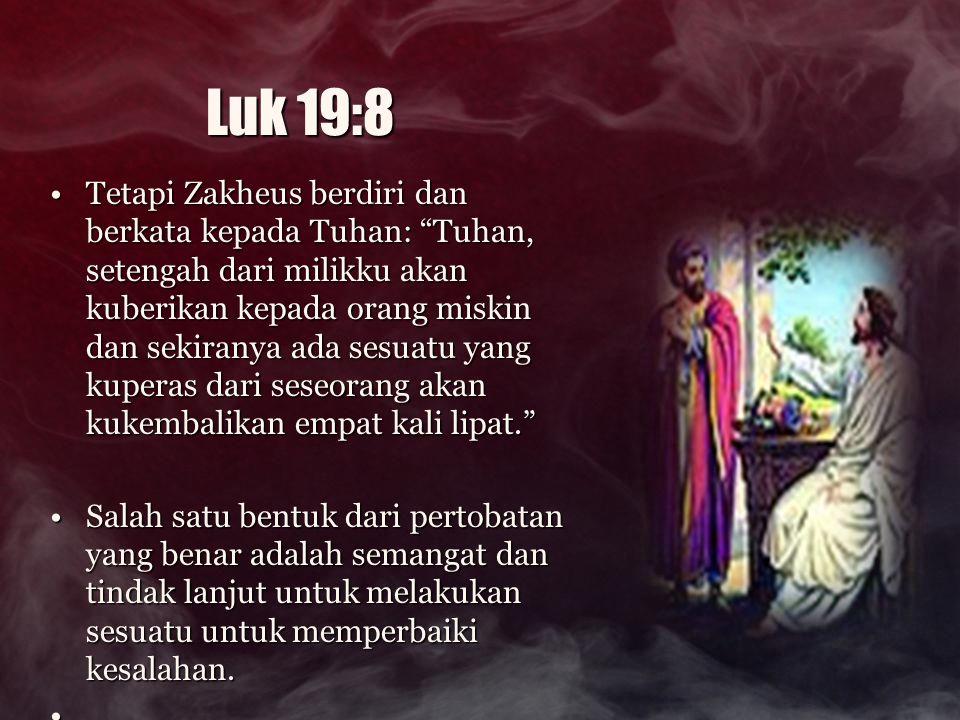 Yesus mengatakan kepada Maria Magdalena, si pelacur itu ….