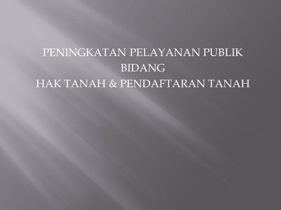 1.UU no 25 tahun 2009 Tentang Pelayanan Publik 2.