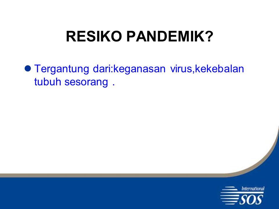VAKSIN Belum ditemukan vaksin yang khusus melindungi dari Swine Flu.