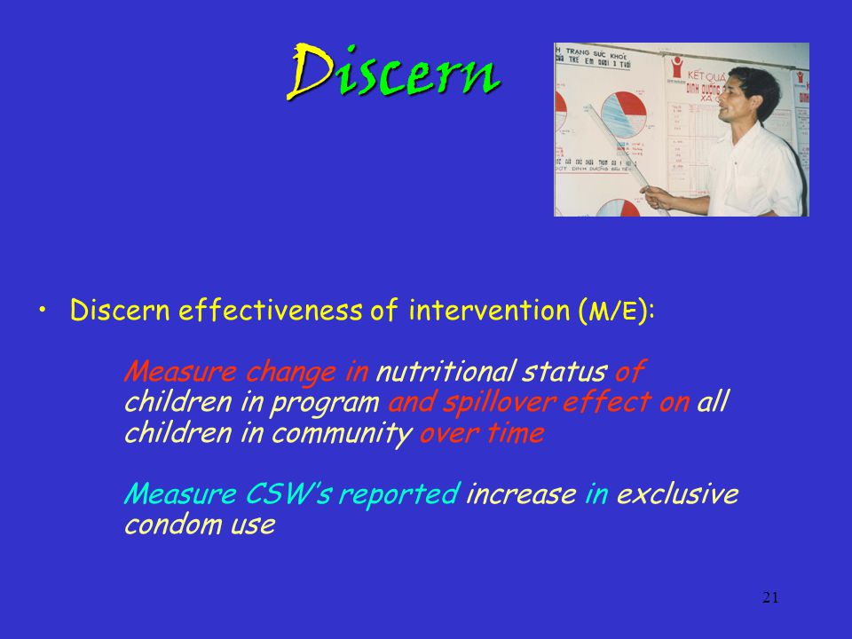 22 Disseminate Disseminate to Appropriate Others: Create a Living University (Social Laboratory) where others wishing to replicate the program come for hands-on participation in successful ongoing programs Create a Living University (Social Laboratory) where others wishing to replicate the program come for hands-on participation in successful ongoing programs