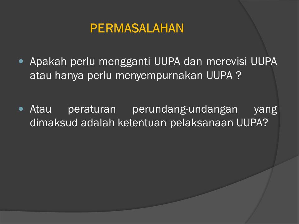 FALSAFAH FUNDAMENTAL UUPA YANG TETAP DAN DIPERTAHANKAN (1) 1.Hak Bangsa Indonesia; 2.Hubungan antara Bangsa Indonesia dengan Tanah adalah Abadi; 3.Tanah merupakan kekayaan nasional; 4.Tanah dikuasai Negara dipergunakan sebesar- besarnya untuk kemakmuran rakyat; 5.Hak menguasai Negara atas Tanah; 6.Pengakuan dan penghormatan Hak Ulayat; 7.Prinsip Landreform;