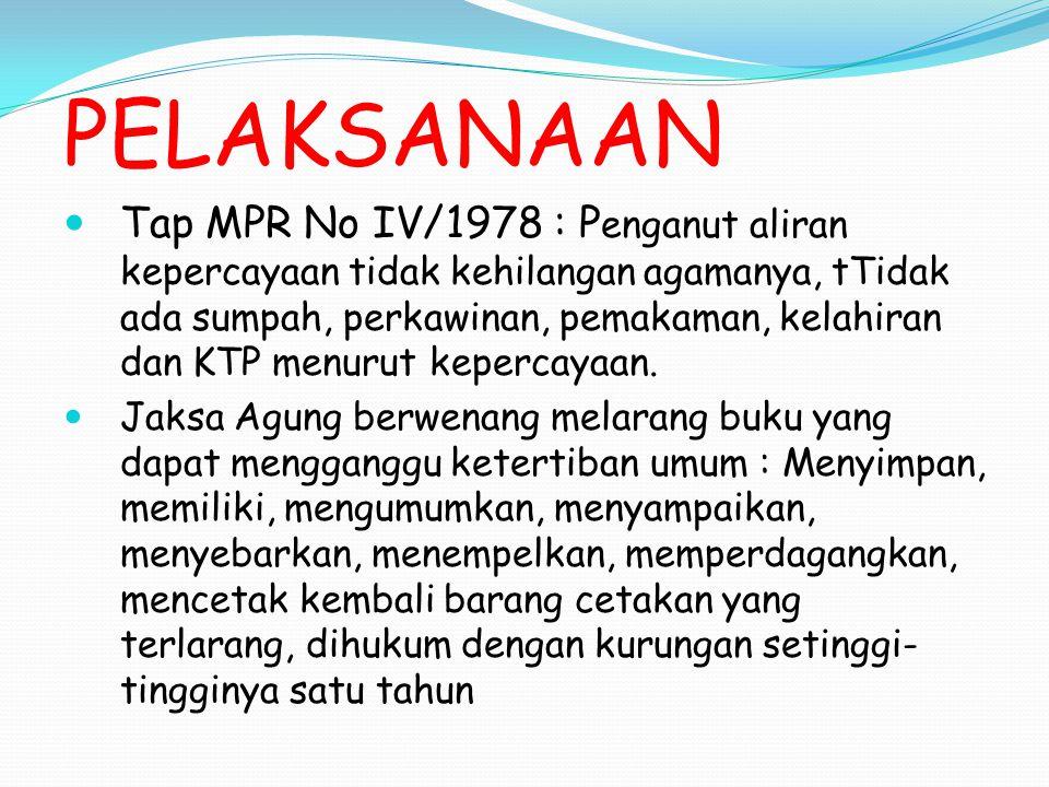 AJARAN ISLAM KUB adalah tasammuh atau toleransi KUB adalah toleransi dalam social kemasyarakatan, bukan dalam soal aqidah, ibadah dan pernikahan.