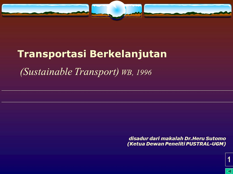  Transport is one sector of the economy in which almost everything has gone wrong; previous transport policy has resulted in too much pollution, too much congestion, too much investment in 'profitable' roads, too little investment in public transport and planning decisions being taken on the basis of misleading price signals. Blueprint 3 (Earthscan, 1993)