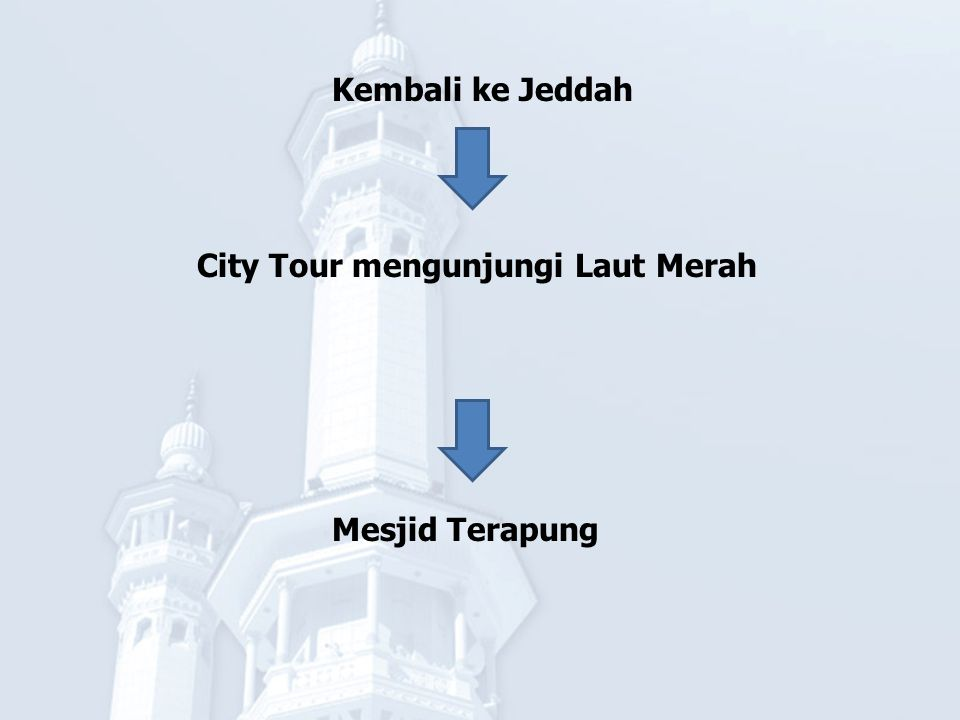Kembali ke Tanah Air Insya Allah jamaah tiba di Bandara Soekarno Hatta Jakarta Mudah – mudahan Allah SWT menerima amal ibadah kita dan menjadikan Ibadah Umrah yang Mabrur.