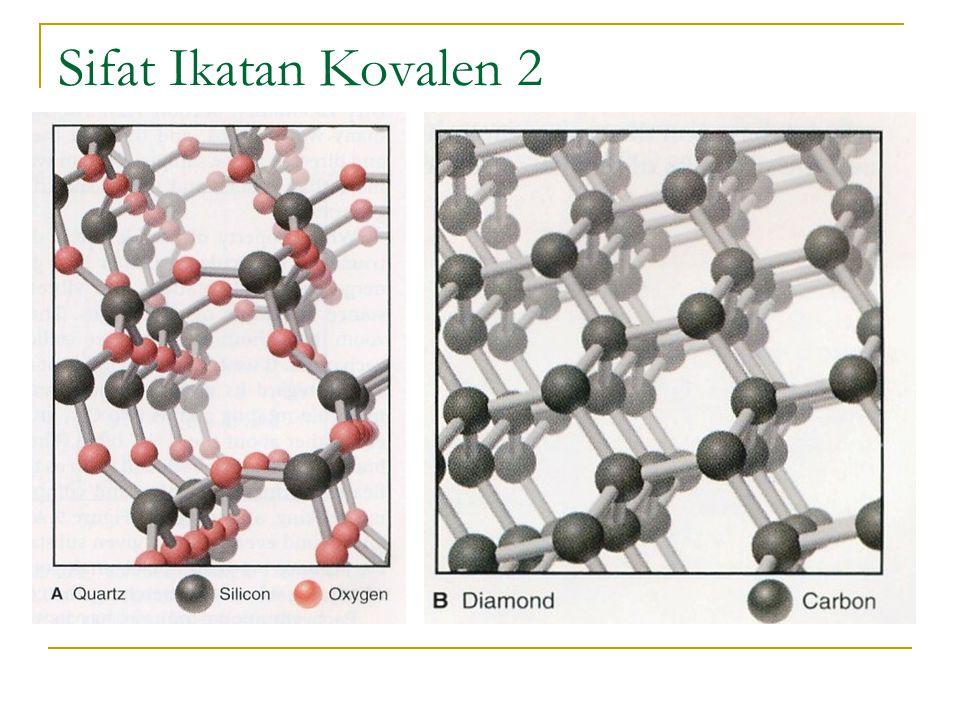 Elektronegatifitas dan Polaritas Ikatan Dicetuskan pertama kali oleh Linus Pauling dan menelurkan skala elektronegatifitas (EN) dari unsur dalam tabel periodik Gambaran Umum: Kita bisa memperkirakan energi ikatan H – F akan memiliki nilai diantara energi H – H (432 kJ/mol) dan F – F (159 kJ/mol).