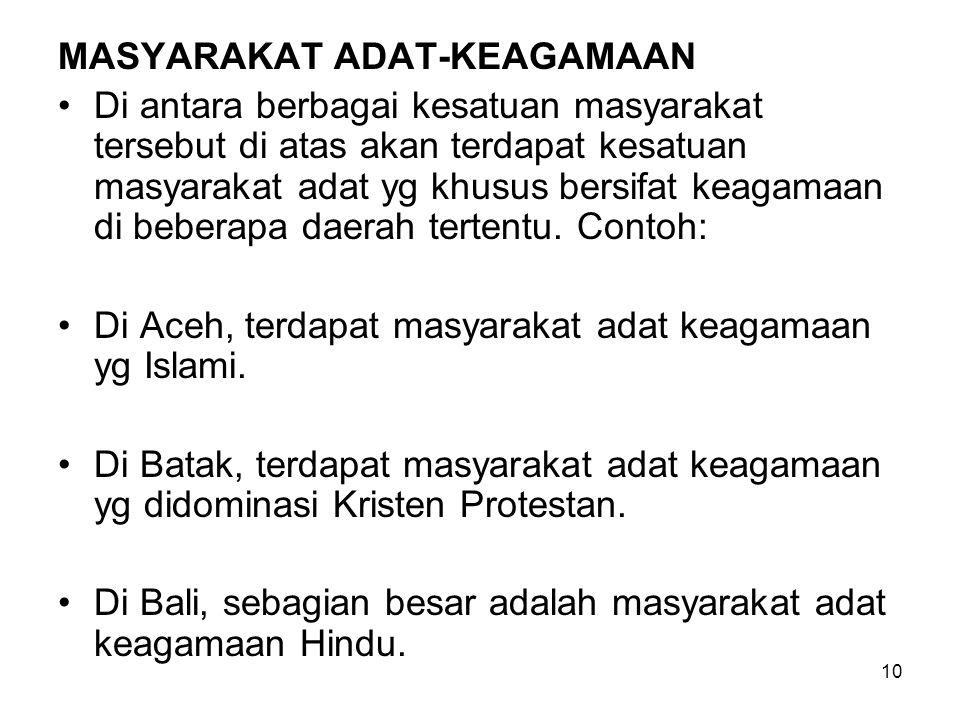 11 MASYARAKAT ADAT DI PERANTAUAN Masyarakat desa adat keagamaan Sadwirama merupakan bentuk baru bagi orang Bali untuk tetap mempertahankan eksistensi adat & agama Hindu di daerah perantauan.