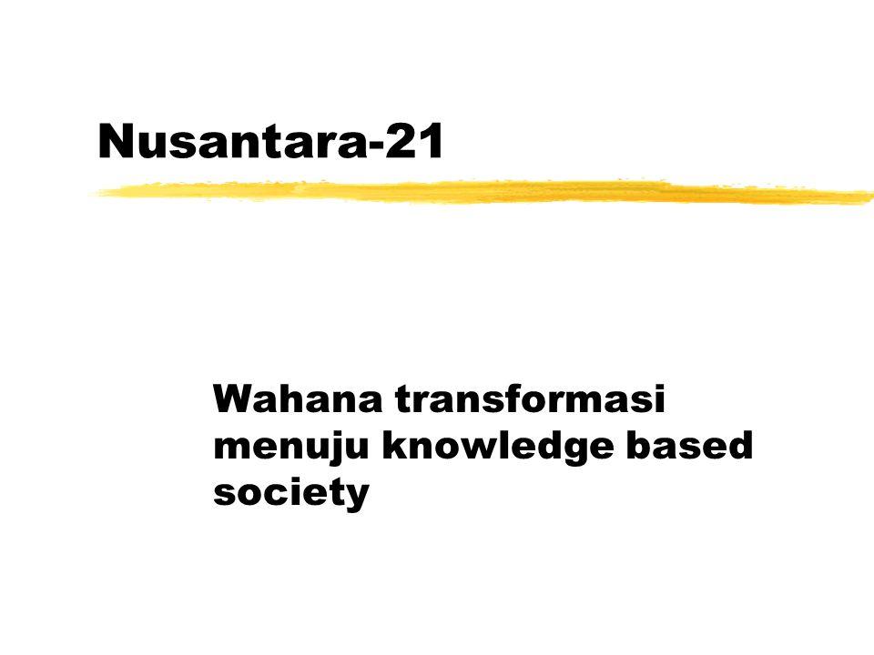 Nusantara-21 Yayasan Litbang Telkomunikasi Informatika ylti@telkom.co.id