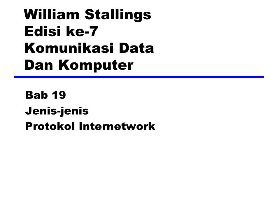 Multicasting Pengalamatan yang mengacu pada kelompok dari host-host dalam satu jaringan atau lebih Penggunaan —Multimedia Siaran —Teleconferencing —Database —Distribusi komputasi —Real time workgroups