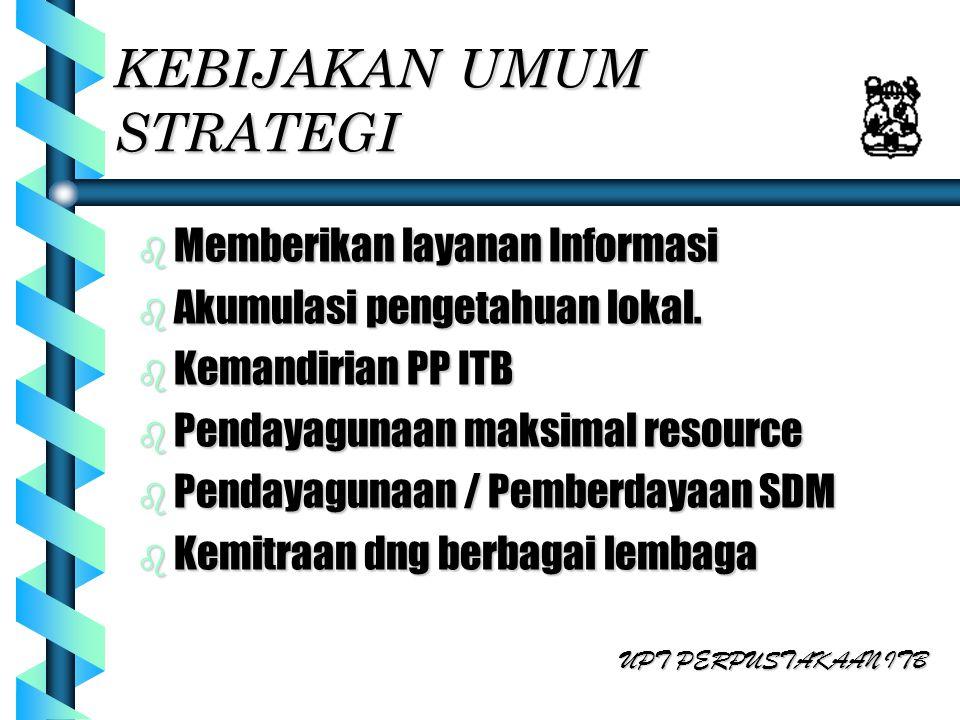 STRATEGI INTERAKSI INTERNAL b Akumulasi Tugas Akhir dan Thesis butuh perubahan regulasi ITB.butuh perubahan regulasi ITB.