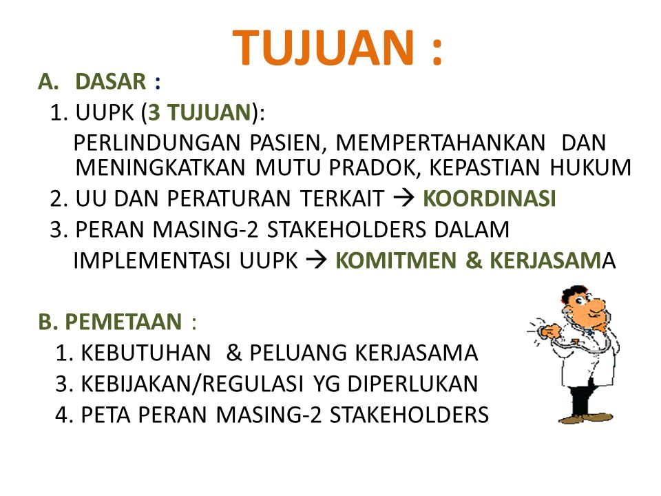 KONSIL KEDOKTERAN INDONESIA Badan otonom, mandiri, non Struktural, bersifat independen, terdiri : - Konsil Kedokteran (KK) - Konsil Kedokteran Gigi (KKG) bertanggung jawab langsung kepada Presiden RI PELANTIKan anggota KONSIL KEDOKTERAN INDONESIA PERIODE TUGAS TH.2009-2014
