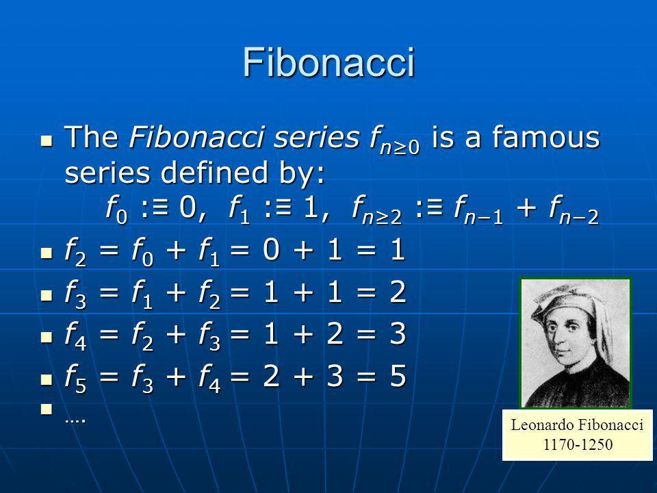 Fibonacci ALGORITMA fibo( n ) = n if n == 0 or n == 1 fibo( n ) = fibo( n – 2 ) + fibo( n – 1 ) if n >= 2 fibo( 4 ) = fibo( 2 ) + fibo( 3 ) = fibo( 0 ) + fibo ( 1 ) + fibo( 3 ) = 0 + 1 + fibo( 1 ) + fibo( 2 ) = 0 + 1 + 1 + fibo( 0 ) + fibo( 1 ) = 0 + 1 + 1 + 0 + 1 = 3 SOURCE CODE int fibo ( int n ) { int x, y; if ( n <= 1 ) return ( n ); x = fibo ( n – 1); y = fibo ( n – 2); return ( x + y ); }