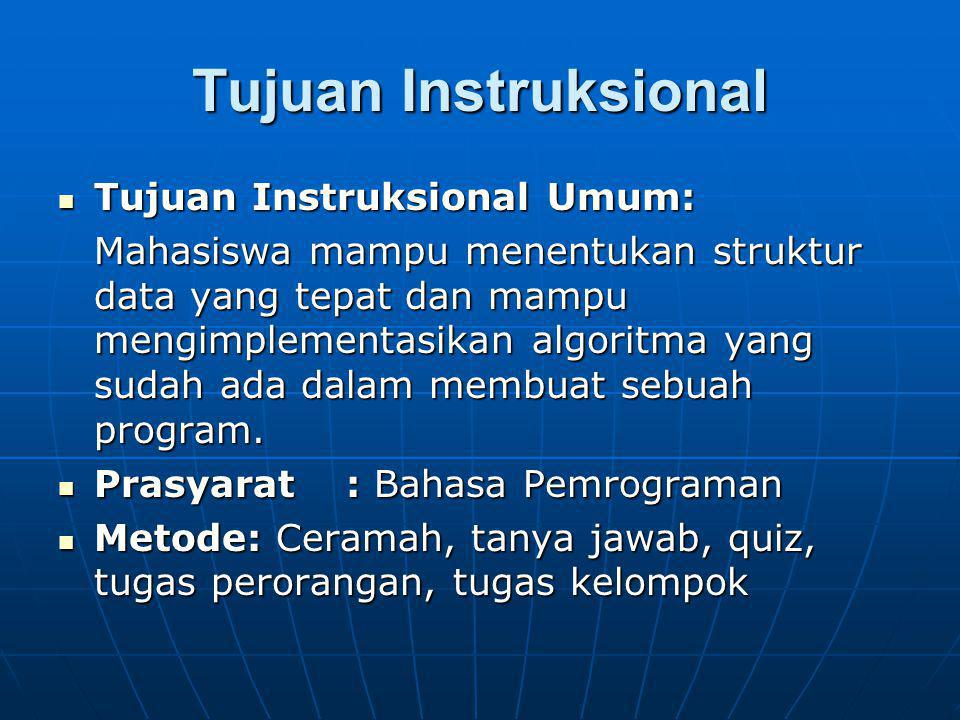 Tujuan Instruksional Khusus 1.