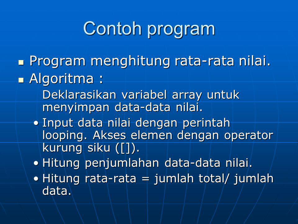 STRUCT Tipe data turunan.Tipe data turunan.