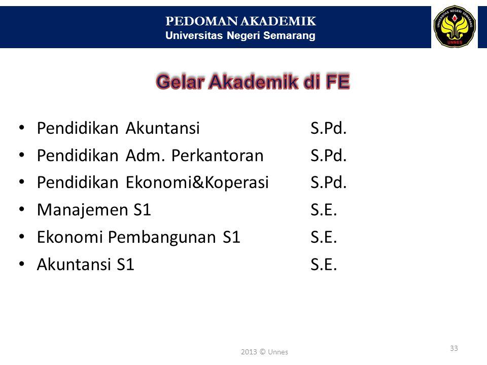 PEDOMAN AKADEMIK Universitas Negeri Semarang 34 2013 © Unnes mahasiswa yang pada suatu semester mencapai Indeks Prestasi (IP) beban semester kurang dari 2,00 dan memperoleh kurang dari 10 sks untuk mata kuliah dengan nilai sekurang-kurangnya C diberi peringatan tertulis oleh Ketua Jurusan/Kaprodi; mahasiswa yang pada semester sebelumnya telah mendapat peringatan dan pada semester berikutnya secara berturut- turut mencapai IP kurang dari 2,00 dan memperoleh kurang dari 10 sks untuk mata kuliah dengan nilai sekurang- kurangnya C diberi peringatan keras tertulis oleh dekan;