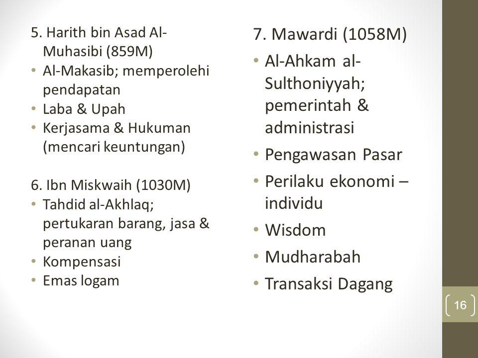 Pemikiran Ekonomi Islam: Kilasan Tokoh Dan Pemikirannya  Pemikiran para sarjana muslim mengembangkan konsep- konsep Islam sesuai dengan situasi dan kondisi yang dihadapi  Klasifikasi :  periode pertama  periode kedua  periode ketiga  periode kontemporer 17