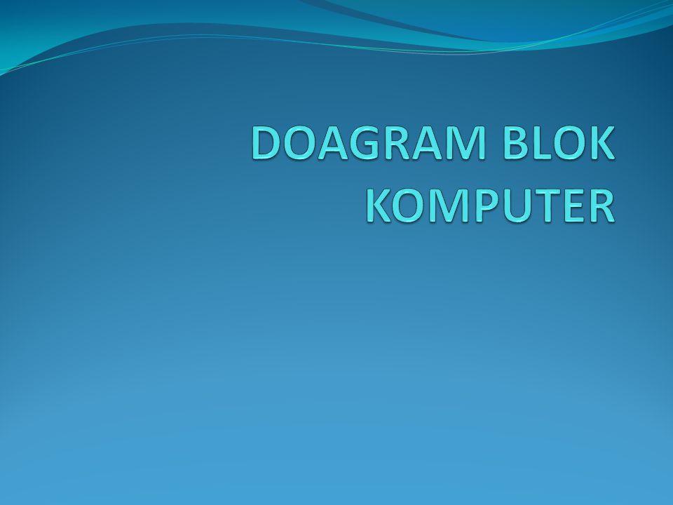 Pengertian Diagram Blok adalah diagram yang di buat untuk mempetakan proses kerja pada suatu komputer agar mudah dipahami