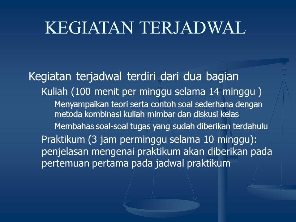PEMBERIAN TUGAS ADA SEBELAS KALI PEMBERIAN TUGAS SETIAP MAHASISWA WAJIB MENGUMPULKAN TUGAS YANG DIBERIKAN TUGAS DIKUMPULKAN DALAM KELOMPOK- KELOMPOK PEMBAGIAN KELOMPOK SESUAI DENGAN NRP MAHASISWA SETIAP KELOMPOK TERDIRI DARI 9-11 ORANG