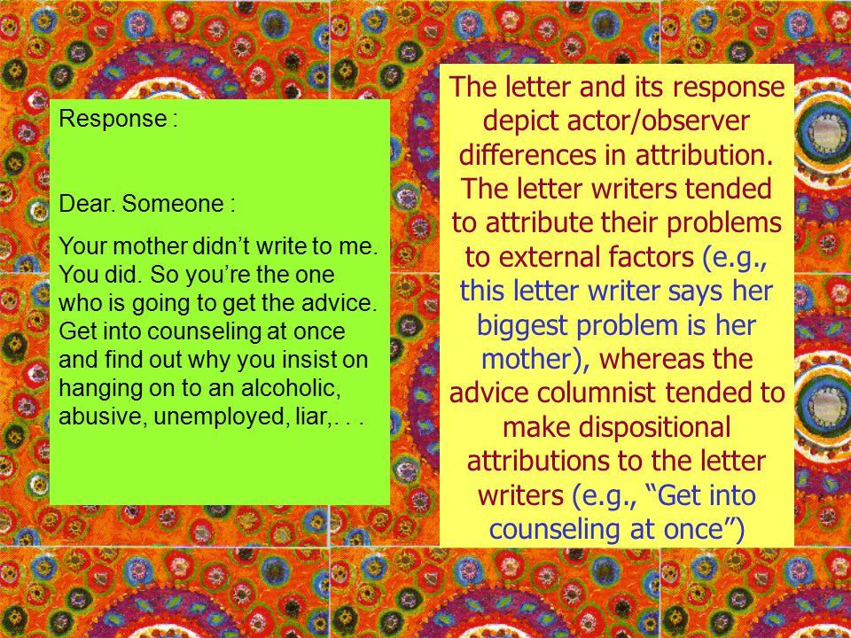 3.Bias Mengutamakan Diri Sendiri (Self Serving Bias) Saya memang bagus; Kamu hanya beruntung .